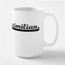 Maximilian Classic Retro Name Design Mugs