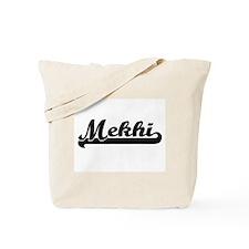 Mekhi Classic Retro Name Design Tote Bag