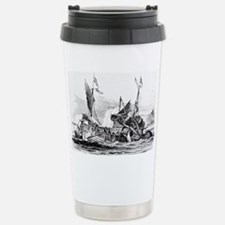 Vintage kraken octopus  Travel Mug