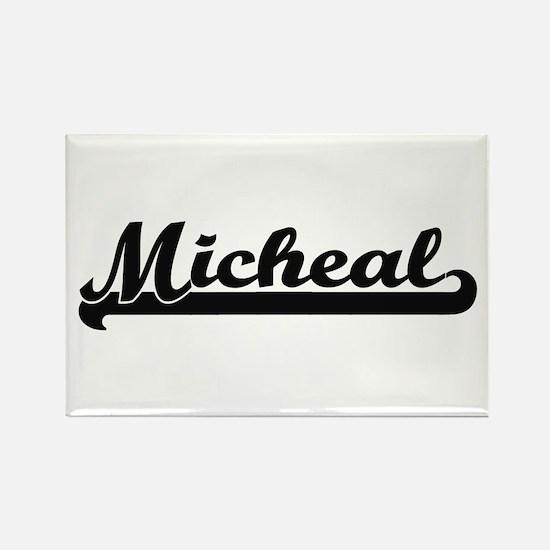 Micheal Classic Retro Name Design Magnets