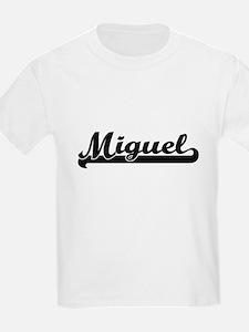 Miguel Classic Retro Name Design T-Shirt