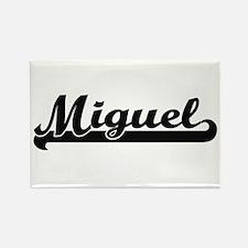 Miguel Classic Retro Name Design Magnets