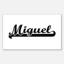 Miguel Classic Retro Name Design Decal