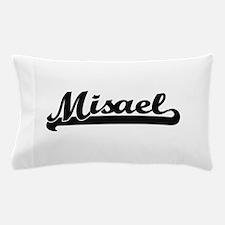 Misael Classic Retro Name Design Pillow Case