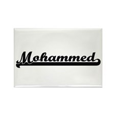 Mohammed Classic Retro Name Design Magnets