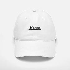 Monty Classic Retro Name Design Baseball Baseball Cap