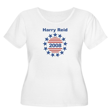 Harry Reid stars and stripes Women's Plus Size Sco