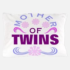 Mom of twins Pillow Case
