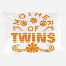 Mom of mtwins Pillow Case