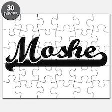 Moshe Classic Retro Name Design Puzzle