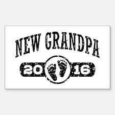 New Grandpa 2016 Decal