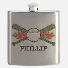 Baseball (p) Flask