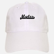 Myles Classic Retro Name Design Baseball Baseball Cap