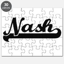 Nash Classic Retro Name Design Puzzle