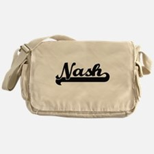 Nash Classic Retro Name Design Messenger Bag