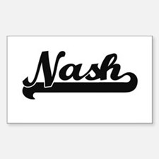 Nash Classic Retro Name Design Decal