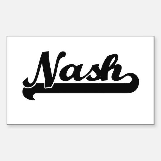 Nash Classic Retro Name Design Decal
