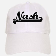 Nash Classic Retro Name Design Baseball Baseball Cap