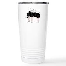 Unique Ostriches Travel Mug