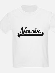 Nasir Classic Retro Name Design T-Shirt