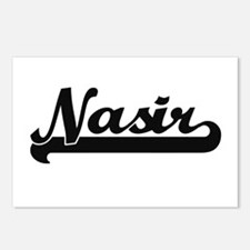 Nasir Classic Retro Name Postcards (Package of 8)