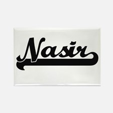 Nasir Classic Retro Name Design Magnets
