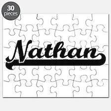 Nathan Classic Retro Name Design Puzzle