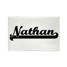 Nathan Classic Retro Name Design Magnets