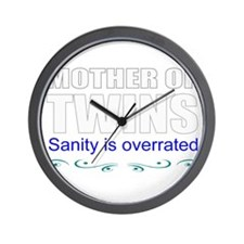 Twins mother Wall Clock