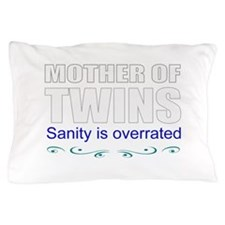 Twins mother Pillow Case
