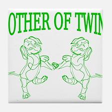 Twins mom Tile Coaster