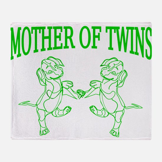 Twins mom Throw Blanket