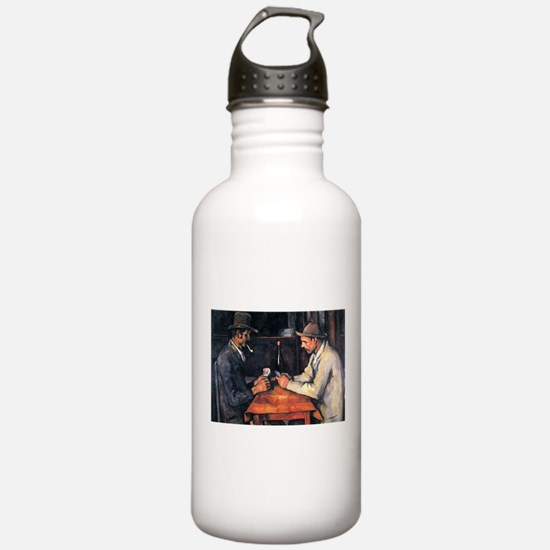 card player art Water Bottle