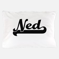 Ned Classic Retro Name Design Pillow Case