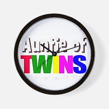 auntie twins Wall Clock