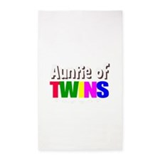 auntie twins Area Rug