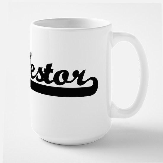 Nestor Classic Retro Name Design Mugs