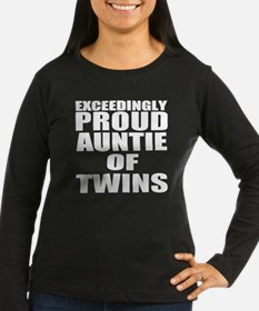 twins auntie Long Sleeve T-Shirt