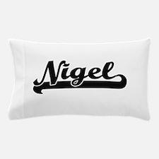 Nigel Classic Retro Name Design Pillow Case