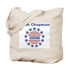 Gene Chapman stars and stripe Tote Bag