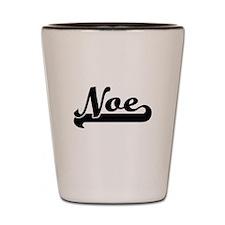 Noe Classic Retro Name Design Shot Glass