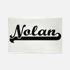 Nolan Classic Retro Name Design Magnets
