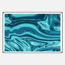 summer beach turquoise waves Banner