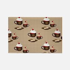 Coffee, Hot Cocoa, Dessert Magnets