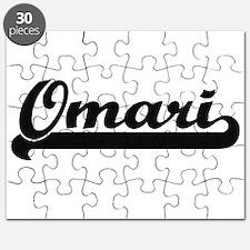 Omari Classic Retro Name Design Puzzle
