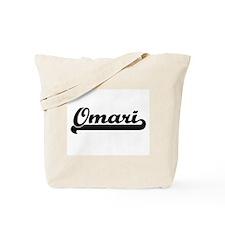 Omari Classic Retro Name Design Tote Bag