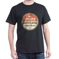 Bocce Player Funny Vintage T-Shirt
