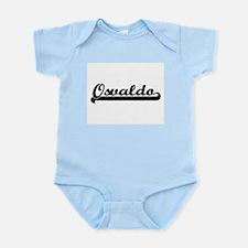 Osvaldo Classic Retro Name Design Body Suit