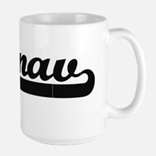 Pranav Classic Retro Name Design Mugs