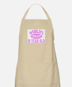 Coolest 19 Year Old BBQ Apron